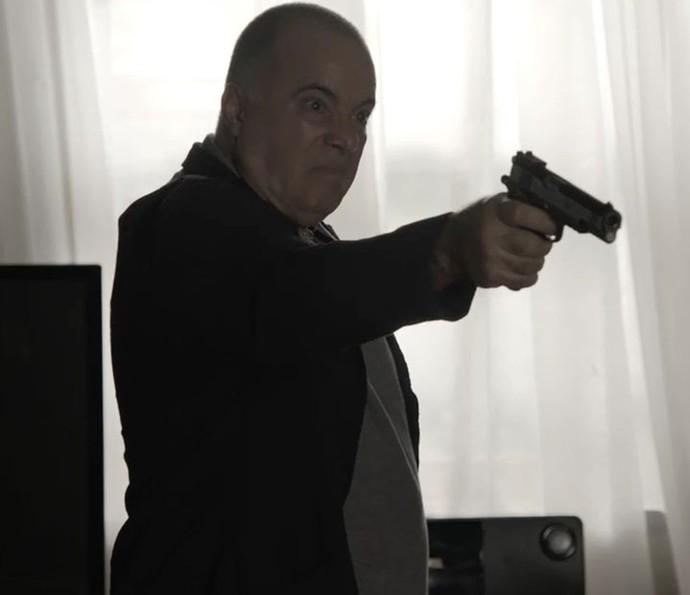 Zé Maria matou Romero (Foto: Globo)