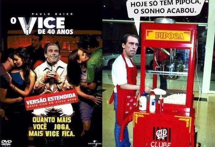 Paulo Baier piada vice Copa do Brasil Coritiba Atlético-PR (Foto: Reprodução / Facebook)