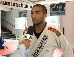 Maranhense Ivaldo Alves disputa competições importantes de jiu-jitsu (Foto: Reprodução/TV Mirante)
