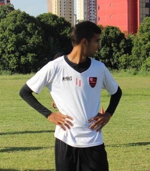 Augusto, ex-jogador do Flamengo-PI (Foto: Marco Freitas)