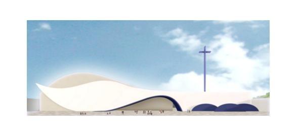 Santuário Theotokos - Mãe de Deus, a maior igreja católica de São Paulo (Foto: Divulgação)
