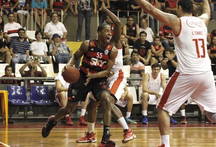 Flamengo Paulistano NBB TIjuca Tênis Clube (Foto: Gilvan de Souza/Flamengo)