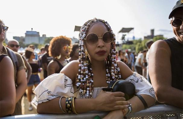 Cabelos do Afropunk (Foto: Reprodução Instagram )