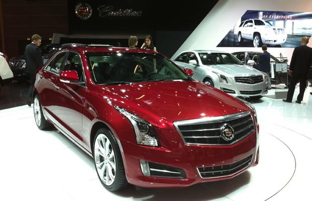 Cadillac ATS (Foto: Priscila Dal Poggetto / G1)