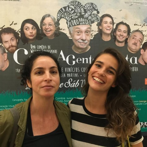 Rosane Svartman e Priscila Steinman  (Foto: Vinícius Coimbra)
