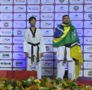 Venilton Texeira; taekwondo; Amapá (Foto: Reprodução/Facebook)