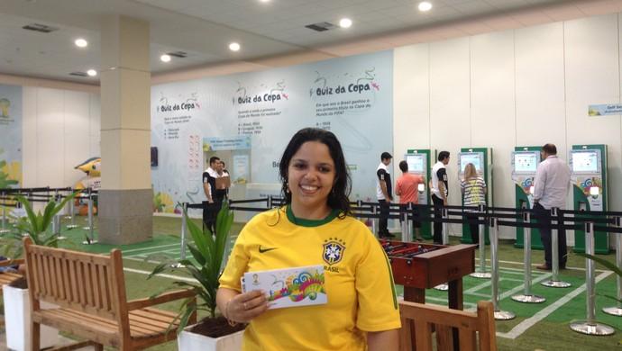 Retirada, Ingressos, Copa, Fortaleza (Foto: Thaís Jorge)
