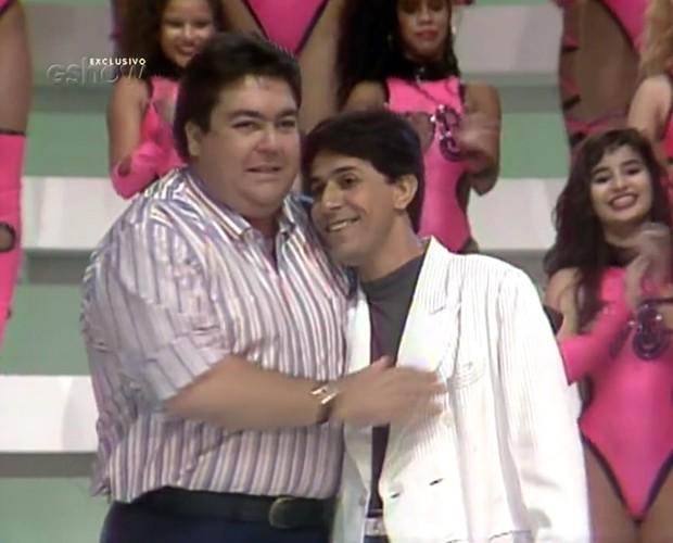 Tom Cavalcante é um sócio do Domingão de longa data, e agora reestreia no programa (Foto: TV Globo)