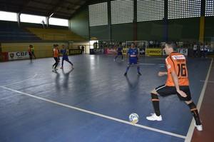 Carlos Barbosa-RS x Crensa-PI Taça Brasil de Futsal (Foto: Divulgação/CBFS)