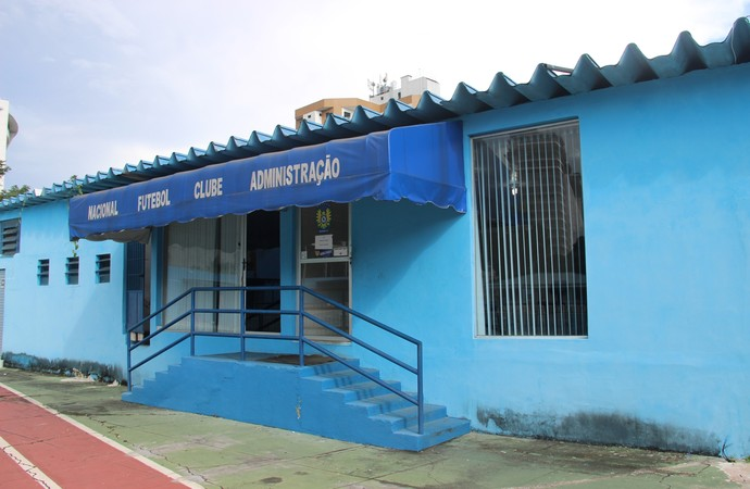 Sede do Nacional (Foto: Indiara Bessa/G1 AM)