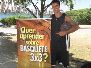 Marcelinho será o comentarista da Copa América de Basquete 3x3 (Foto: Marcello Pires)