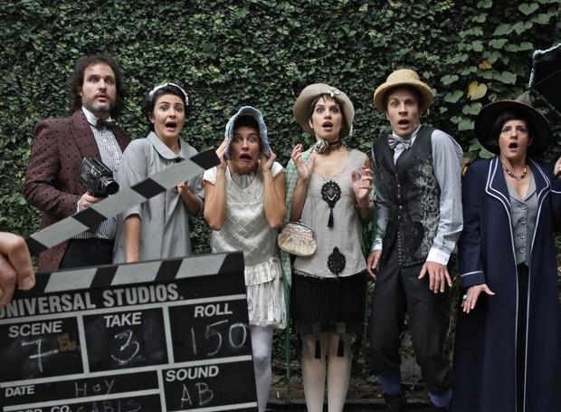 O elenco de 'filminho' (Foto: Divulgação)