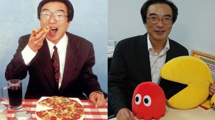 Toru Iwatani atribui a epifania da criação de Pac-Man a uma pizza (Foto: Pac-Man Museum / Pac-Man Wikia)
