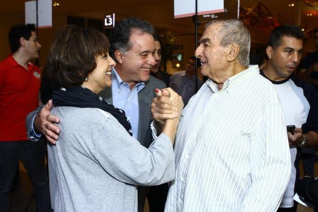Tony Ramos e a esposa (Foto: Raphael Mesquita / FotoRioNews)