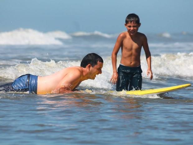 Surf adaptado foi testado no encerramento da temporada passada  (Foto: Beatriz de Luca/Divulgação)