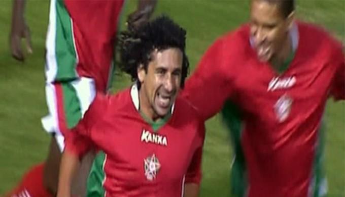 Clébson dá show e Boa Esporte vence o América-RN (Foto: Reprodução Premiere FC)
