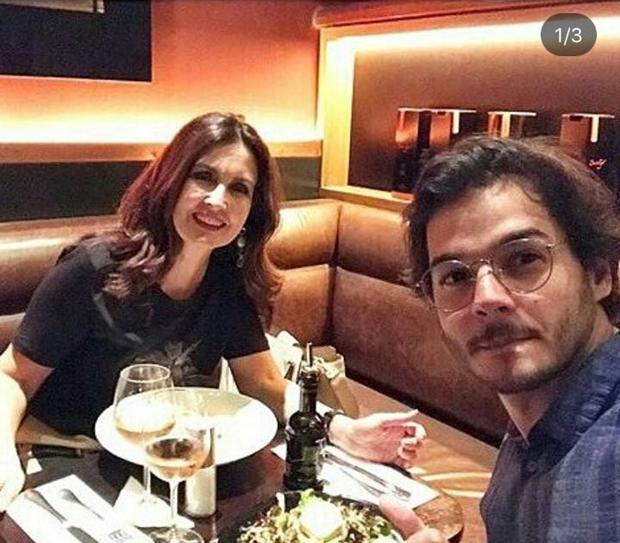 Fátima e Túlio Gadelha (Foto: Reprodução/Instagram)