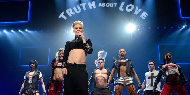 Pink - Live in Melbourne (Foto: divulgao)
