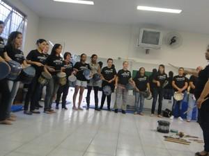 Alunos concluem curso com apresentações  (Foto: Pablo Santos/Divulgação)