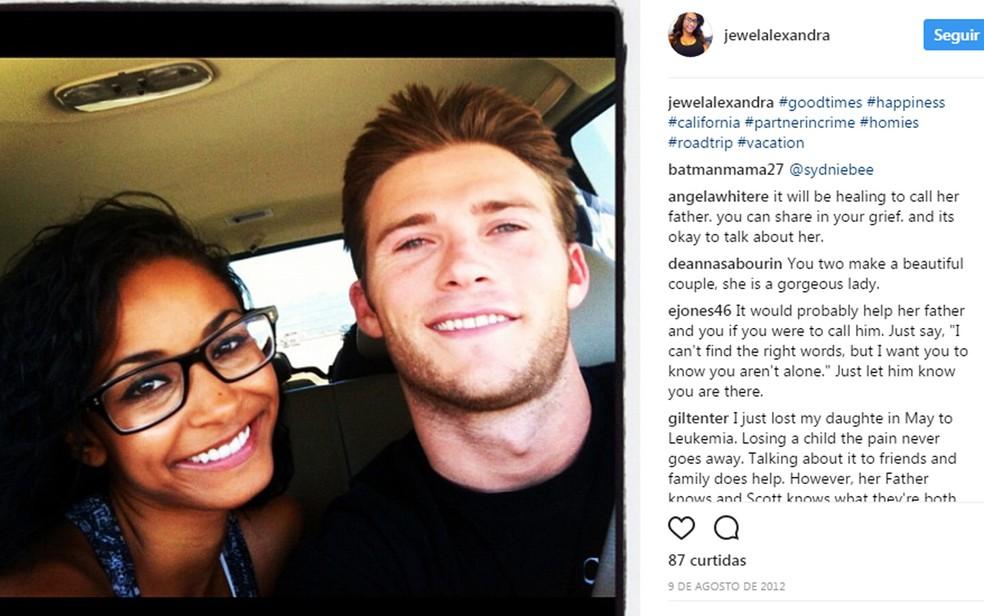 Jewel Bragman é uma das vítimas dos airbags da Takata; ela foi namorada do ator Scott Eastwood (Foto: Reprodução/Instagram)