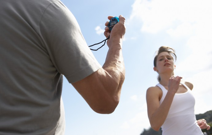 Eu Atleta - mulher e treinador coluna gustavo (Foto: Getty Images)