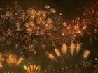 Milhões de pessoas celebram virada do ano em festas pelo Brasil