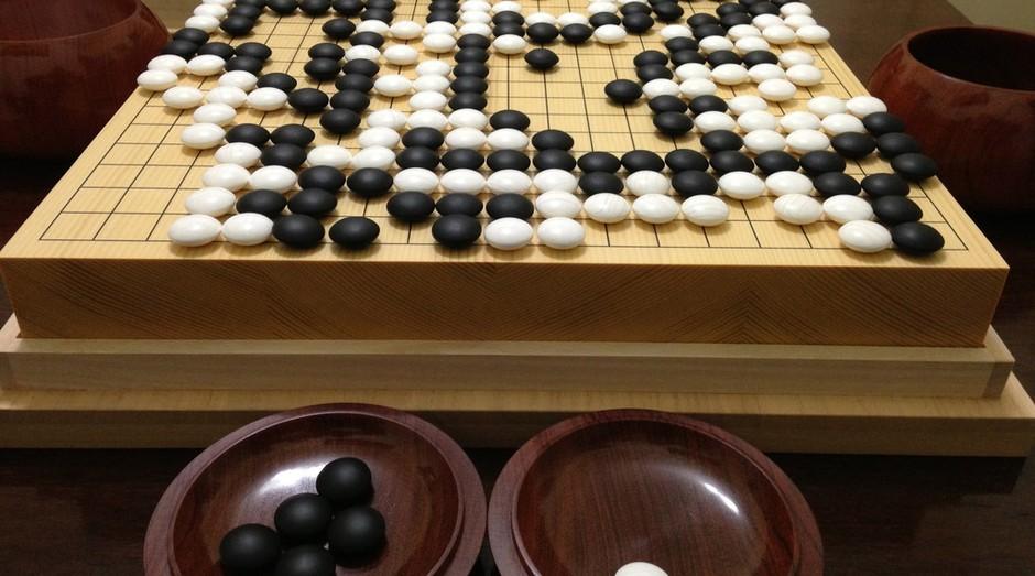 O go é um tradicional jogo chinês (Foto: Wikicommons)
