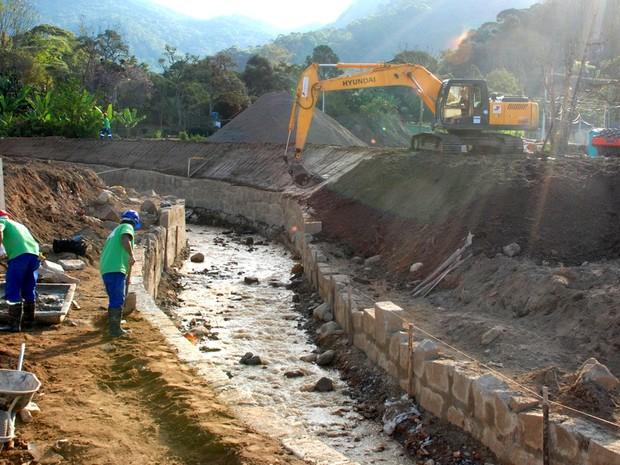 Obras teresopolis (Foto: Jeferson Hermida)