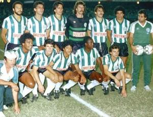 Coritiba 1985 campeão brasileiro (Foto: Divulgação / Site oficial do Coritiba)