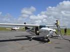 Avião cedido ao governo do AP vai monitorar áreas de risco em Macapá