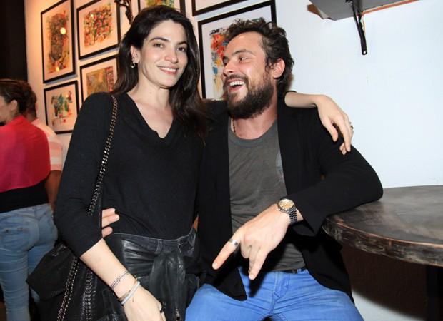 Maria Manoella e Sérgio Guizé (Foto: Marcos Ribas/Brazil News)