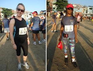 3º Desafio da Paz 2012 - Marye Gilmour e Mônica Ribeiro da Silva (Foto: Luiz Cláudio Amaral / Globoesporte.com)