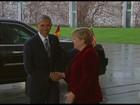 Obama e Merkel destacam conversas sobre livre comércio