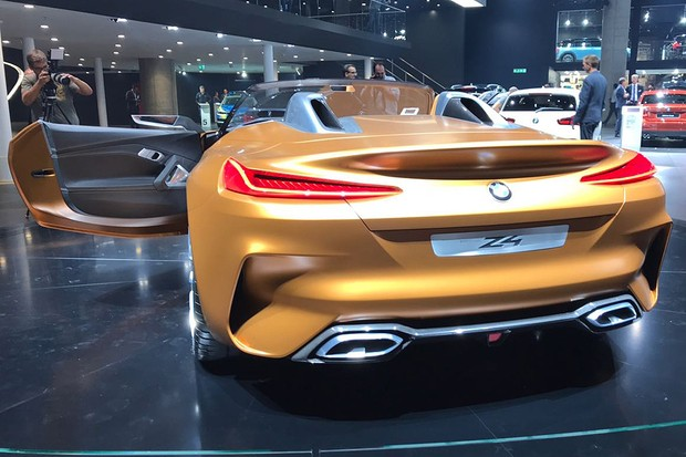Conceito BMW Z4 (Foto: Michelle Ferreira / Autoesporte)