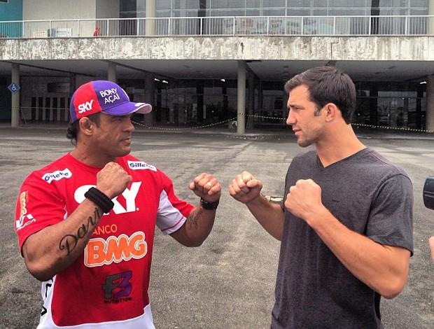 Vitor Belfort x Luke Rockhold mma ufc (Foto: Reprodução)