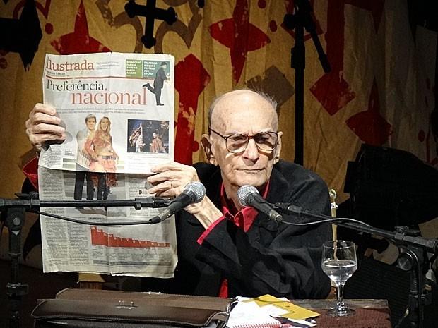 Ariano Suassuna, dramaturgo importante no teatro nacional (Foto: Débora Soares / G1)