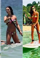 Stand up paddle, slackline, ioga... Veja os dez esportes que estão bombando entre os famosos neste verão