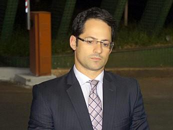O advogado Marcelo Turbay diz que Paulo Octavio foi preso ao sair do escritório localizado no centro de Brasília (Foto: Ricardo Moreira / G1)