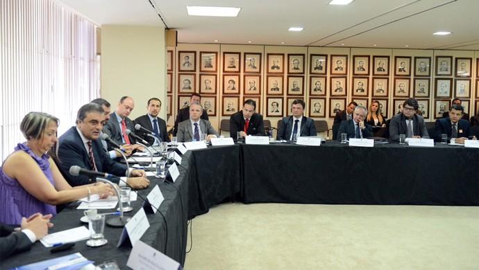 SSP-SE participa de reunião para definir segurança para gregos (Foto: Divulgação/SSP)