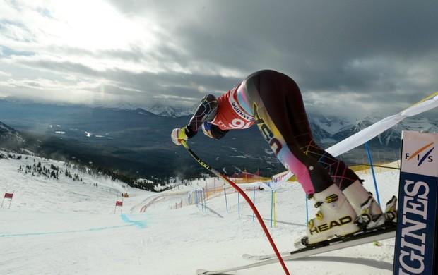 Lindsey Vonn esqui alpino Copa do Mundo de Lake Louise (Foto: AP)