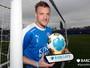 Atacante Vardy é eleito o melhor jogador do Campeonato Inglês