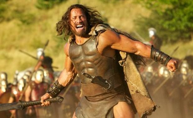 Dwayne Johnson em 'Hércules' (Foto: Divulgação)
