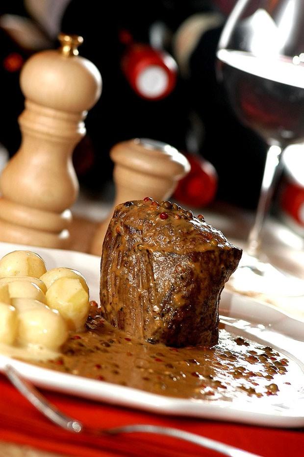 Steak au poivre: aprenda a receita clássica da carne francesa (Foto: Divulgação)
