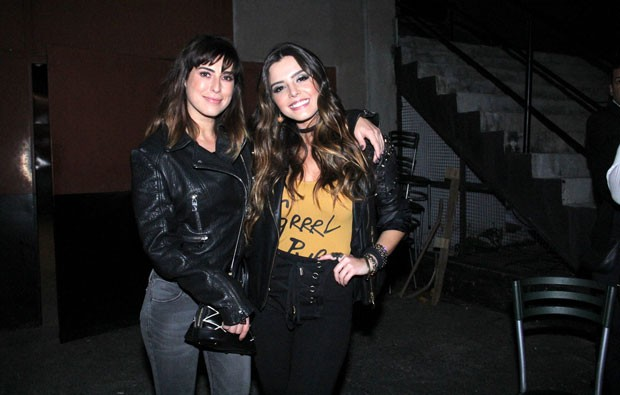Fernanda Paes Leme e Giovanna Lancelotti (Foto: Wallace Barbosa/AgNews)