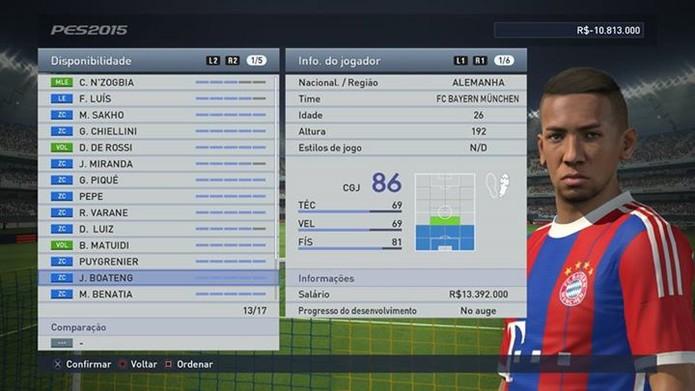 Boateng completa uma defesa super forte do Bayern (Foto: Reprodução/Thiago Barros)