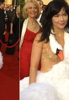 Relembre os looks mais bizarros que já passaram pelo tapete vermelho do Oscar
