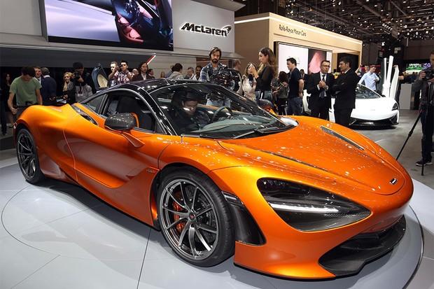 McLaren 750S no Salão de Genebra 2017 (Foto: Newspress)