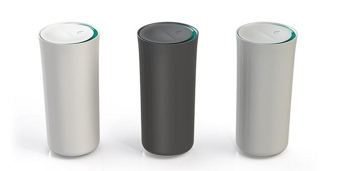 Vessyl Smart Cup vem em cores diferentes (Foto: Reprodução/Vessyl)