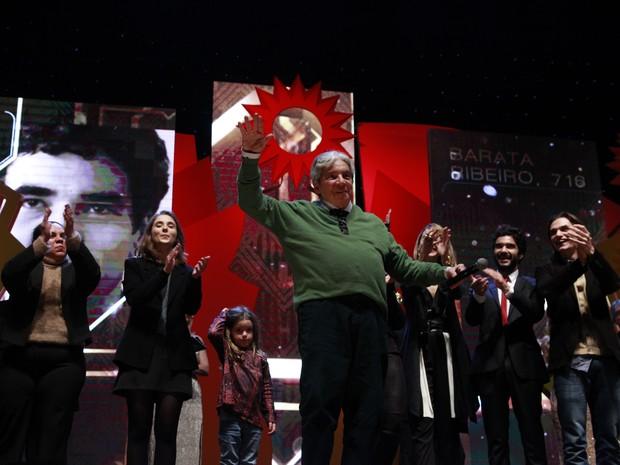 Domingos de Oliveira ganhou kikito de melhor diretor em Gramado (Foto: Cleiton Thiele/Pressphoto)