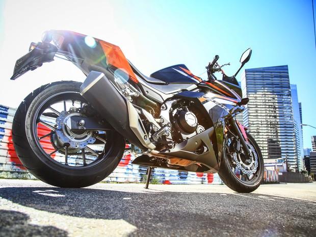 Honda CBR 500R 2016 (Foto: Divulgação)
